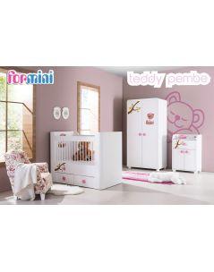 Teddy Pembe Bebek Odası Takımı