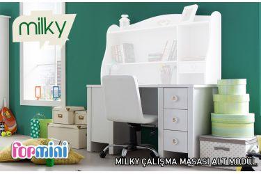 Milky Çalışma Masası ( Alt Modül )