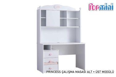 Princess Çalışma Masası ( Alt - Üst Modül )